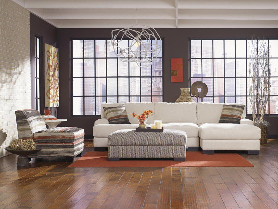 Lombardy sofa, accent chair and ottoman