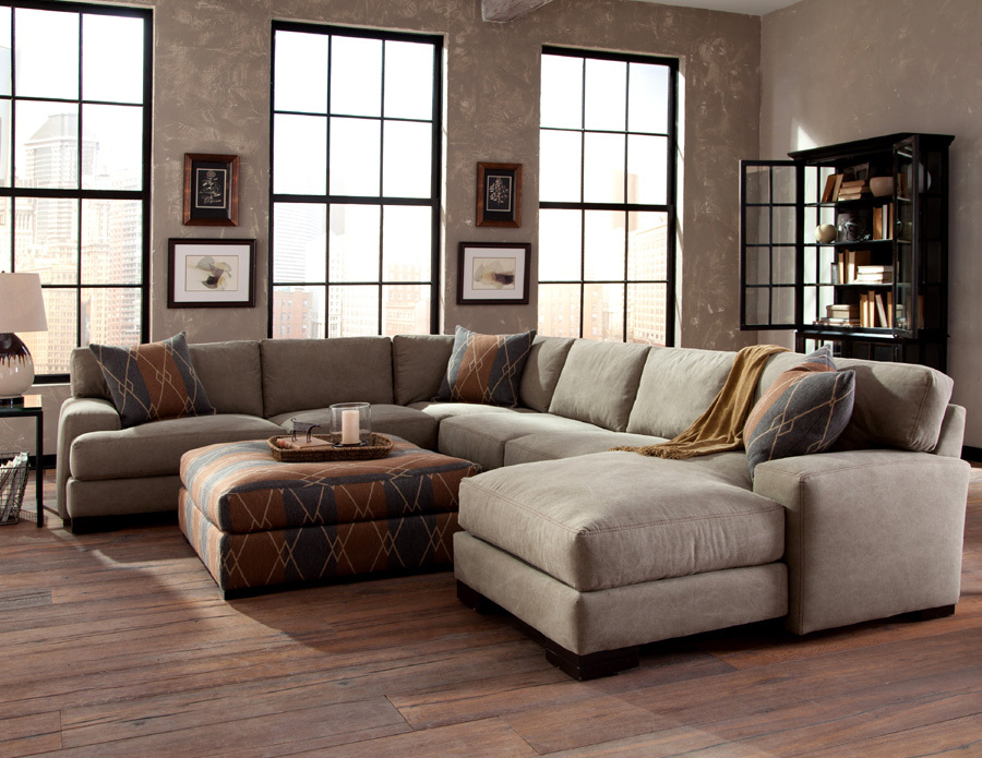 Norton sectional and Riley ottoman